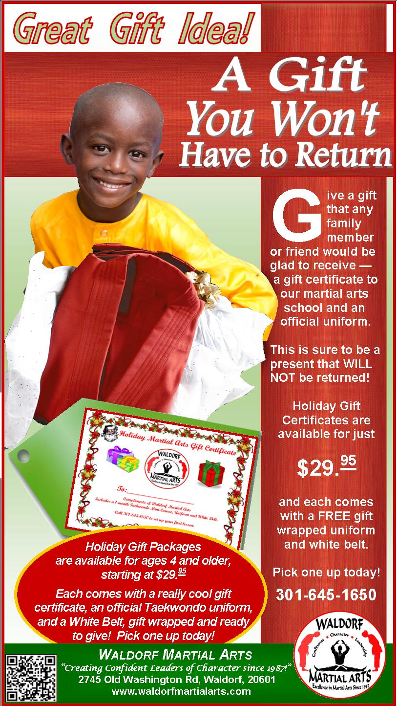 2014 MD IND gift package ad
