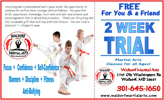 Free 2 week trial for you & a friend ad