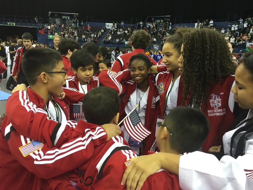 Team USA Huddle Pic.