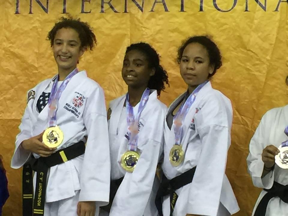 Team USA-WMA female sparring team