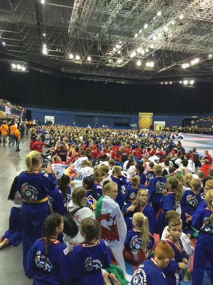 Team USa-A sea of competitors