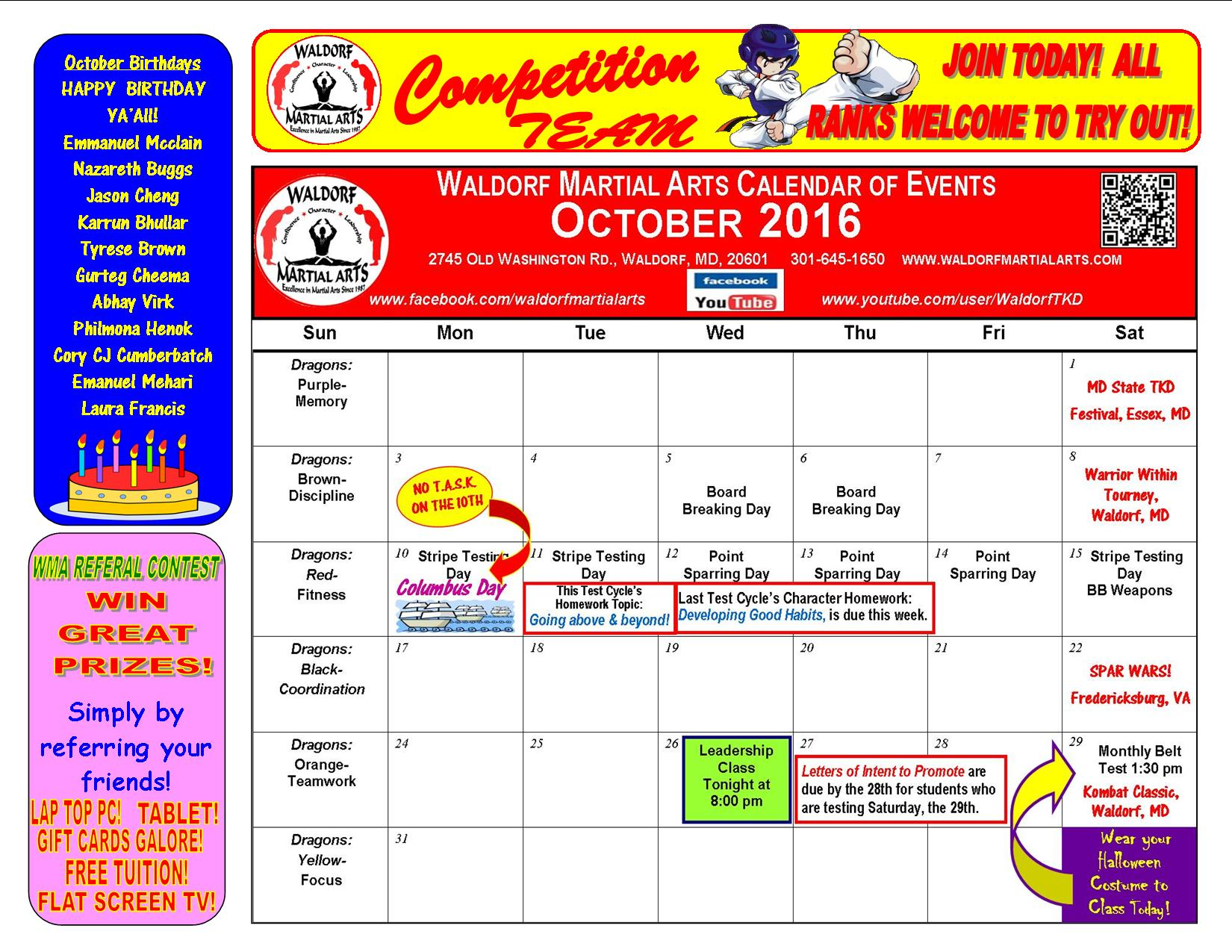 october-2016-calendar-of-events-and-news